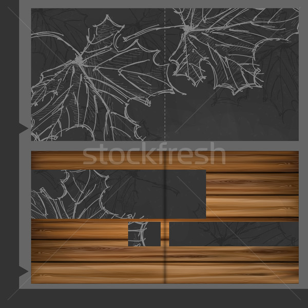 Broşür şablon dizayn eps 10 iş Stok fotoğraf © HelenStock