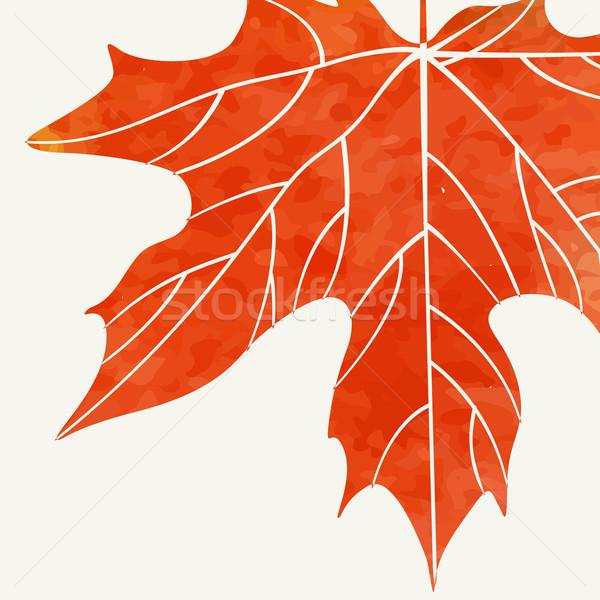 простой осень прибыль на акцию 10 текстуры лес Сток-фото © HelenStock