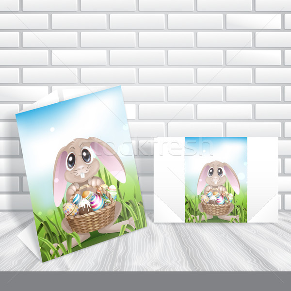 Happy Easter Background Stock photo © HelenStock
