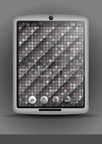 Cellulare eps 10 texture design Foto d'archivio © HelenStock
