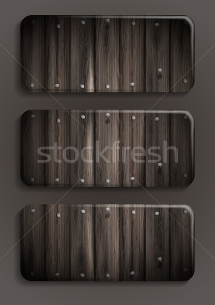 Foto d'archivio: Legno · texture · banner · eps · 10 · business
