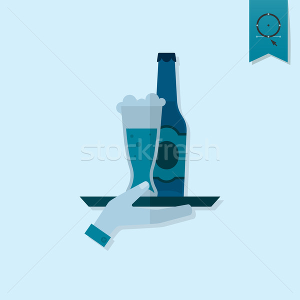 Октоберфест пива фестиваля стороны лоток Сток-фото © HelenStock