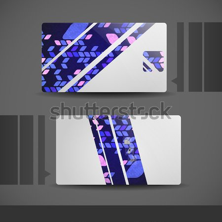 Business Card Design. Stock photo © HelenStock