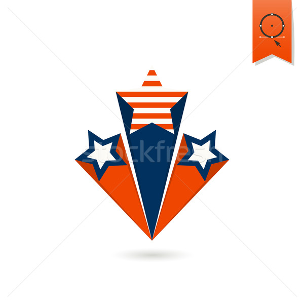 Jour États-Unis simple icône vecteur Photo stock © HelenStock