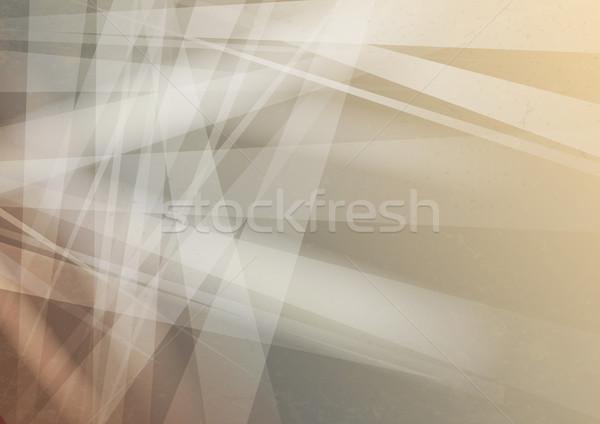 ストックフォト: 割れたガラス · テクスチャ · eps · 10 · デザイン · 技術