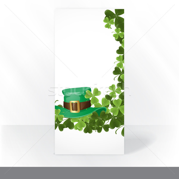 St. Patrick's Day Background Stock photo © HelenStock