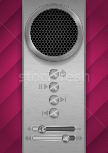 Abstract Speaker Concept Design. Stock photo © HelenStock