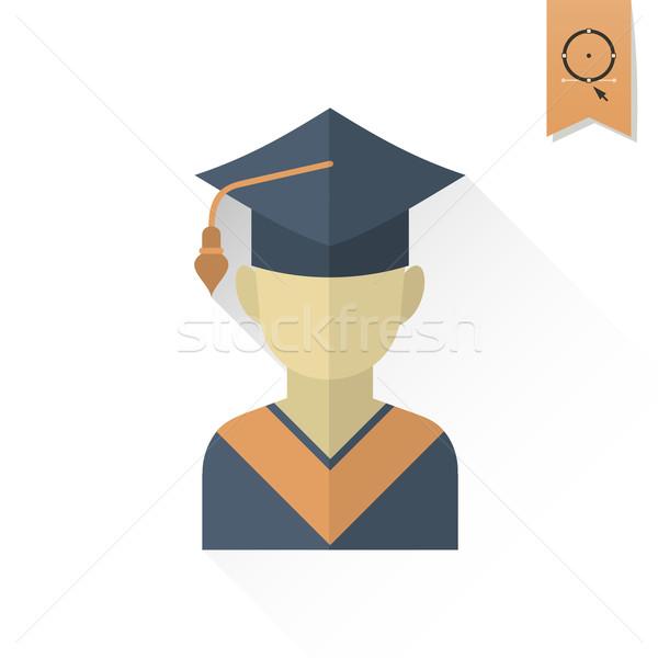 Okul eğitim simgeler ikon kapak Stok fotoğraf © HelenStock
