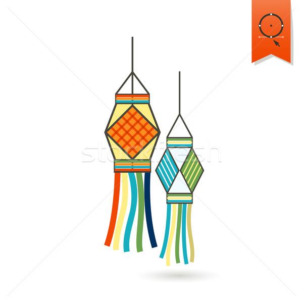 Сток-фото: Дивали · индийской · фестиваля · икона · простой