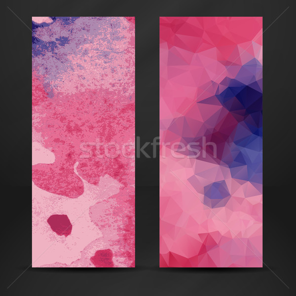 カラフル 抽象的な バナー eps 10 ビジネス ストックフォト © HelenStock