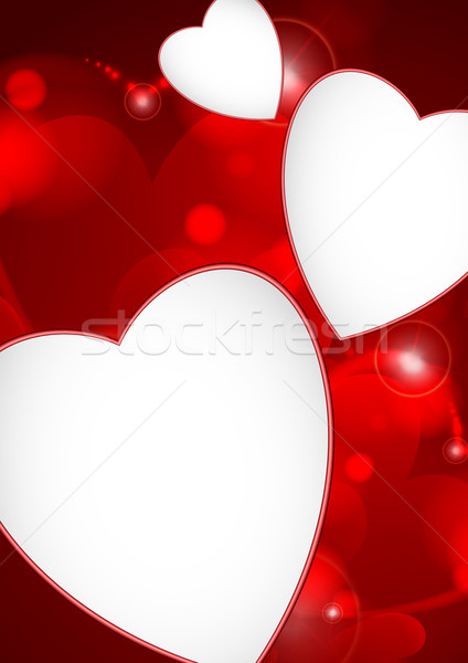 Stock photo: Valentine's Day Or Wedding Background.