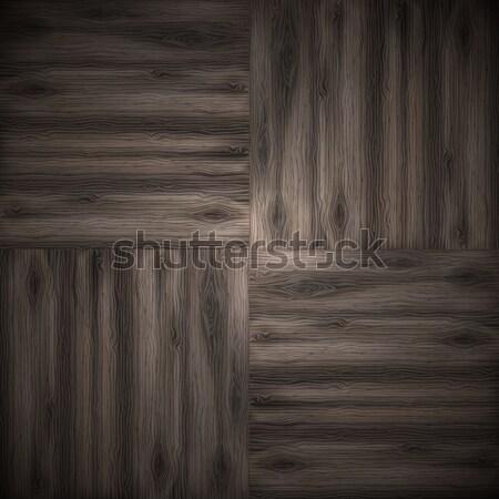 Illustrated wood parquet texture. Stock photo © HelenStock