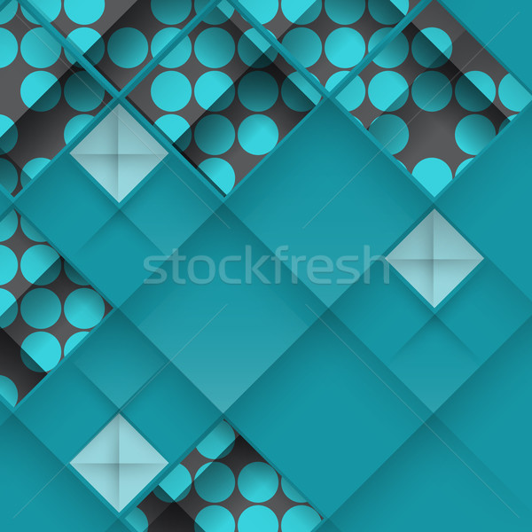 Abstract 3D Geometrical Design Stock photo © HelenStock