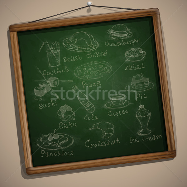 Stock photo: Set of Hand Drawn Various Elements