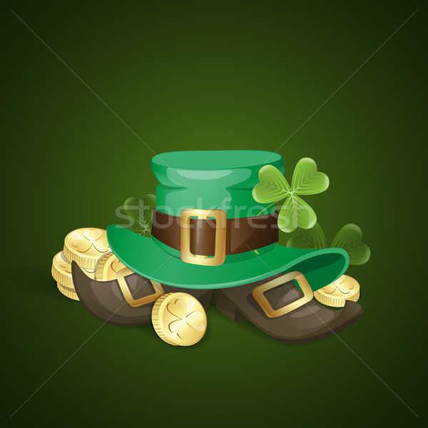 Stock photo: St. Patrick's Day Background