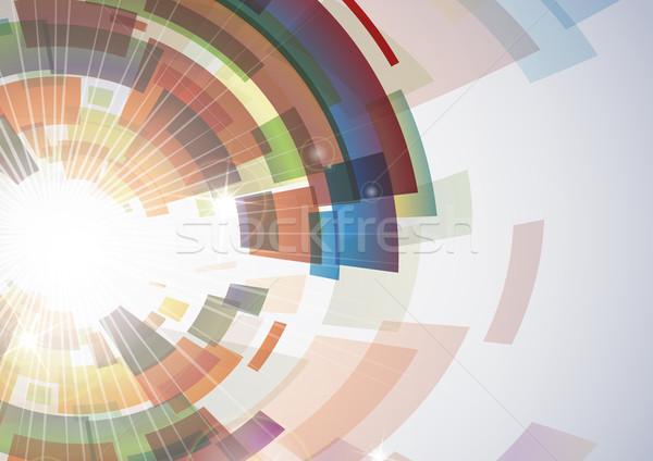 Сток-фото: аннотация · красочный · прибыль · на · акцию · 10 · дизайна · дым