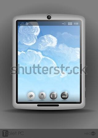 Tablet Pc & Mobile Phone. Stock photo © HelenStock