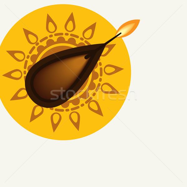 Happy Diwali Festival Stock photo © HelenStock