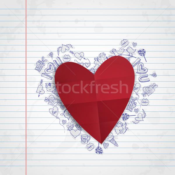 Valentines Day Symbol's. Stock photo © HelenStock