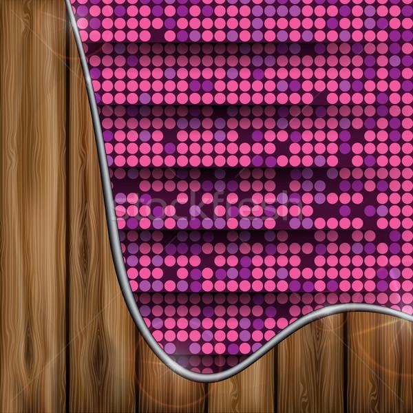 ピンク モザイク eps 10 デザイン 背景 ストックフォト © HelenStock