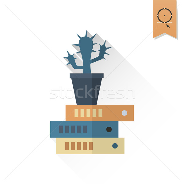 サボテン フォルダ ビジネス 金融 アイコン 単純な ストックフォト © HelenStock