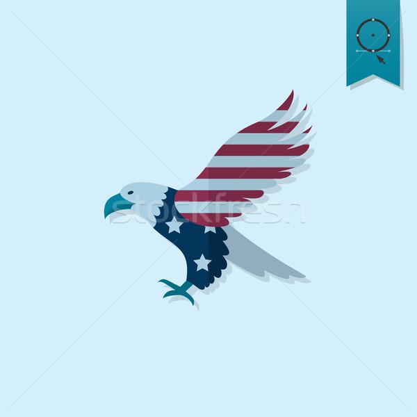 Foto d'archivio: Giorno · Stati · Uniti · semplice · icona · vettore