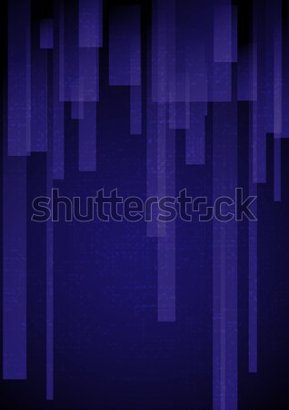 Abstract Blauw rechthoek eps 10 Stockfoto © HelenStock
