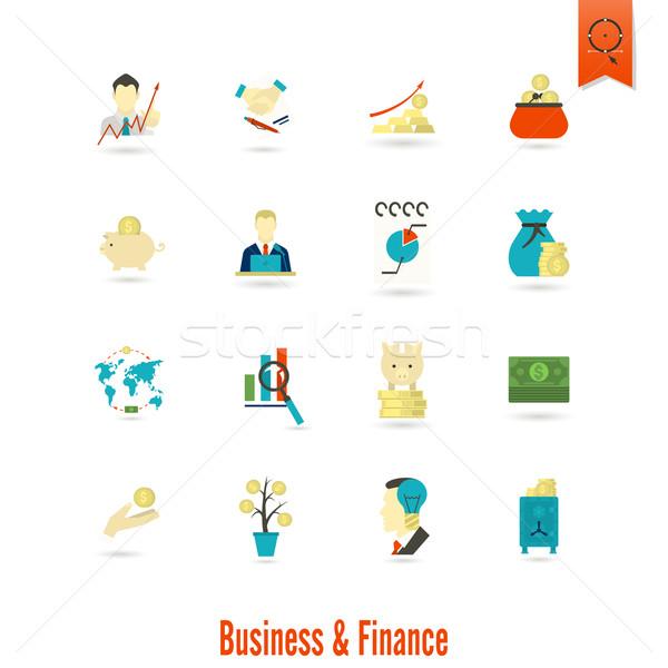 ストックフォト: ビジネス · 金融 · 単純な · スタイル
