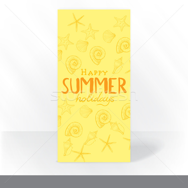 Party Invitation Card Design, Template Stock photo © HelenStock