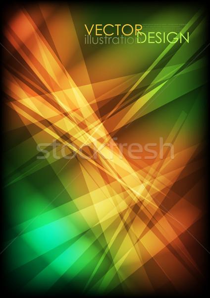 Cacos de vidro textura eps 10 projeto tecnologia Foto stock © HelenStock