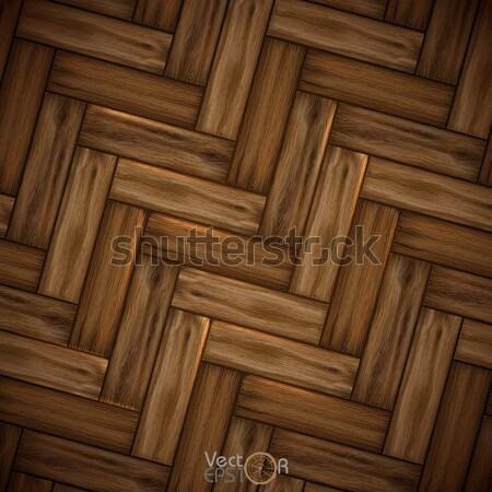 Illustré bois texture eps 10 construction Photo stock © HelenStock