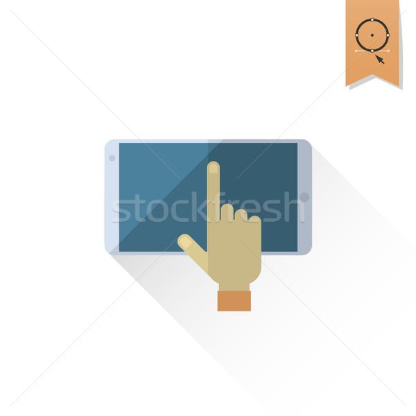 Okul eğitim simgeler ikon dizayn Stok fotoğraf © HelenStock