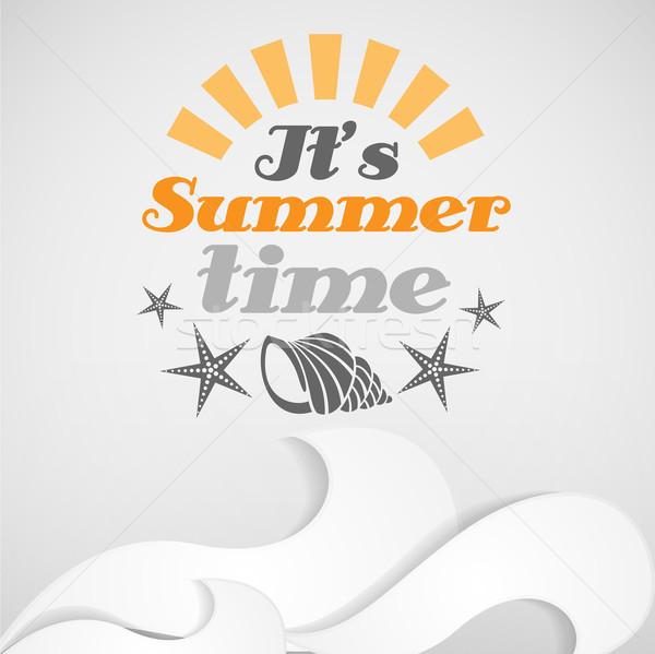 It's Summer Time. Stock photo © HelenStock