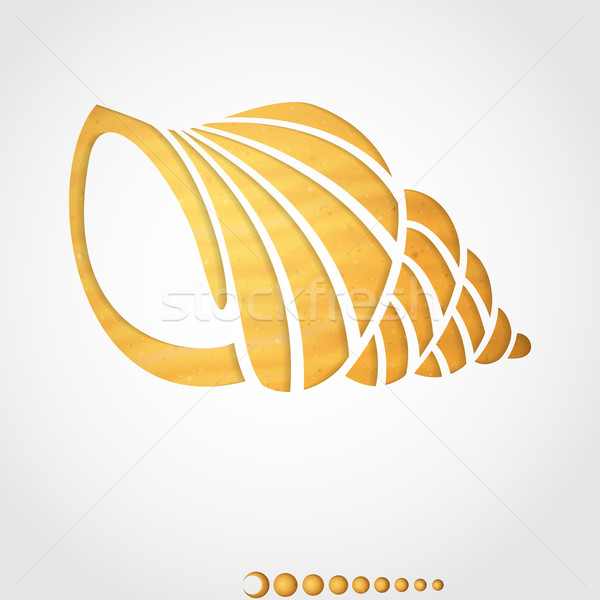 Summer Background. Seashell. Stock photo © HelenStock