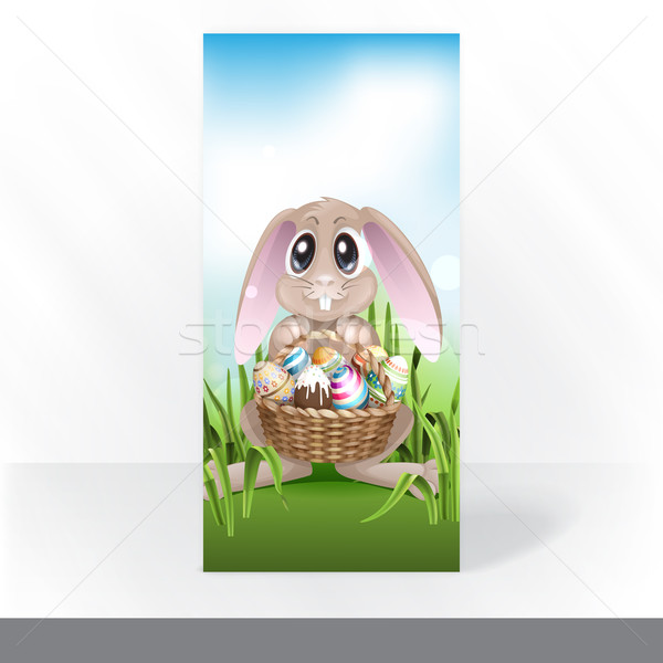 Happy Easter Background. Stock photo © HelenStock