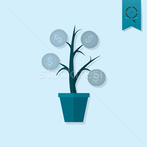 Money Flower Stock photo © HelenStock