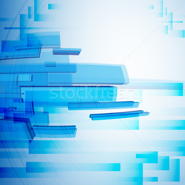Blue Abstract Background. Stock photo © HelenStock