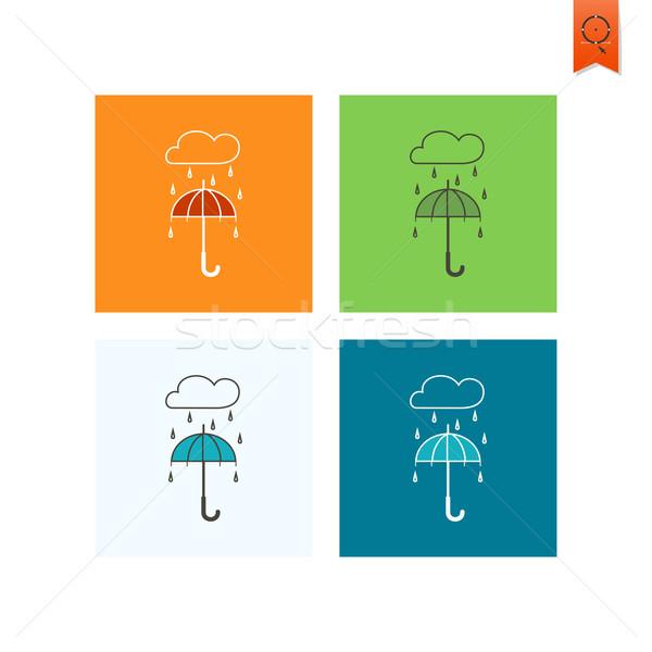 Umbrella and Rain Stock photo © HelenStock