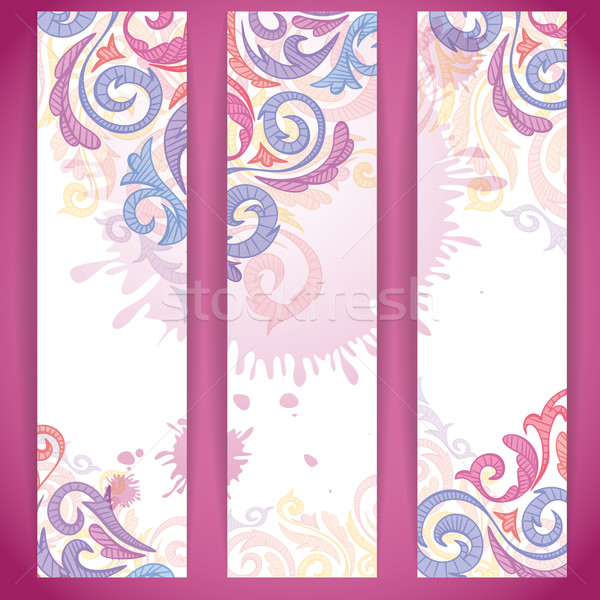 Set of Colorful Banners. Stock photo © HelenStock