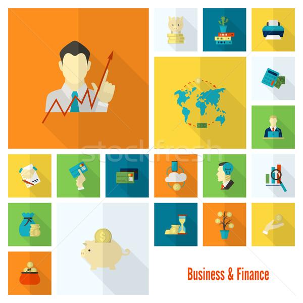 Business finanziare semplice stile Foto d'archivio © HelenStock
