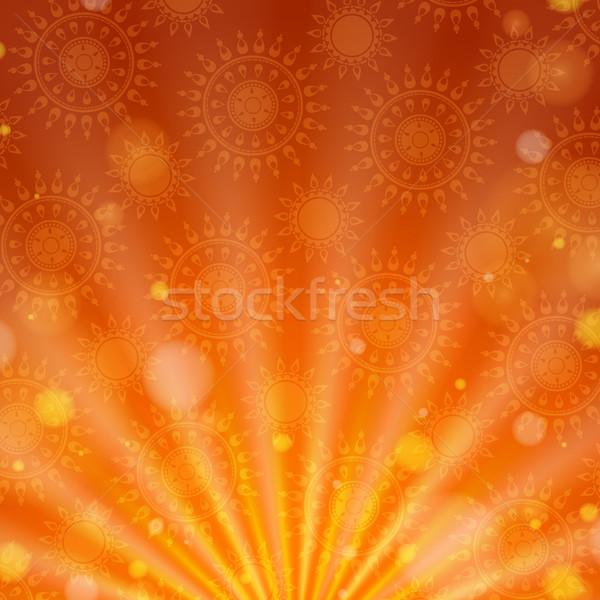 幸せ ディワリ 祭り eps 10 デザイン ストックフォト © HelenStock
