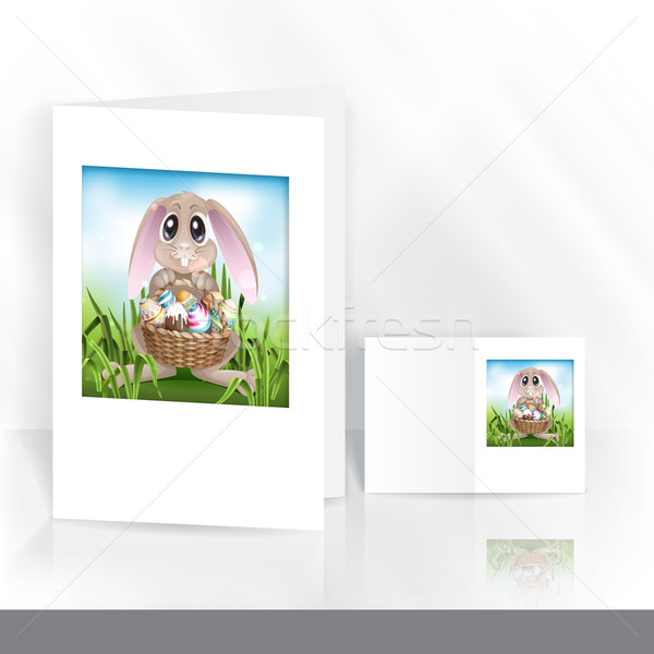 Happy Easter Background. Stock photo © HelenStock