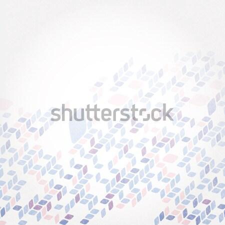 Proste geometryczny wzór eps 10 moda projektu Zdjęcia stock © HelenStock
