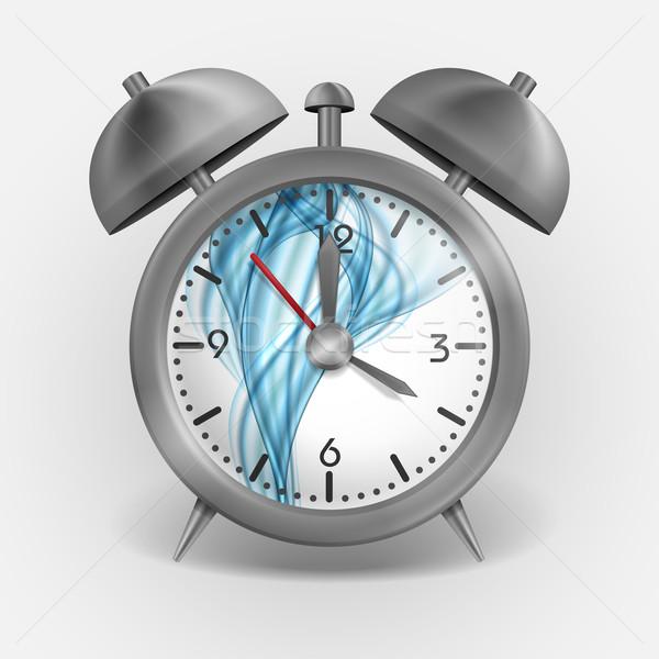 Metal Classic Style Alarm Clock. Stock photo © HelenStock