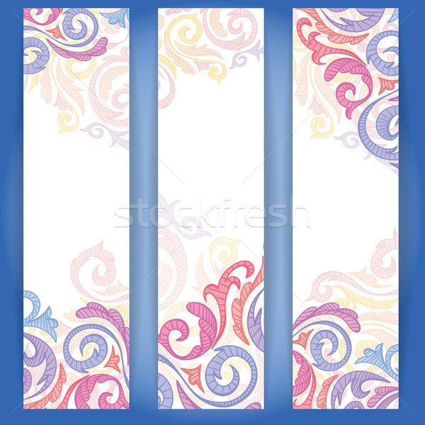 Stock photo: Set Of Colorful Banners.
