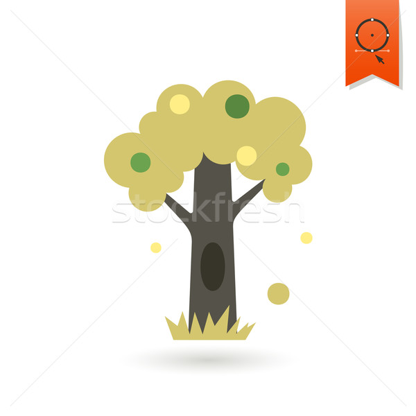Stylized Tree with Hollow Stock photo © HelenStock