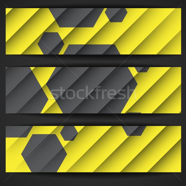 Stock fotó: Réteges · absztrakt · eps · 10 · textúra · terv