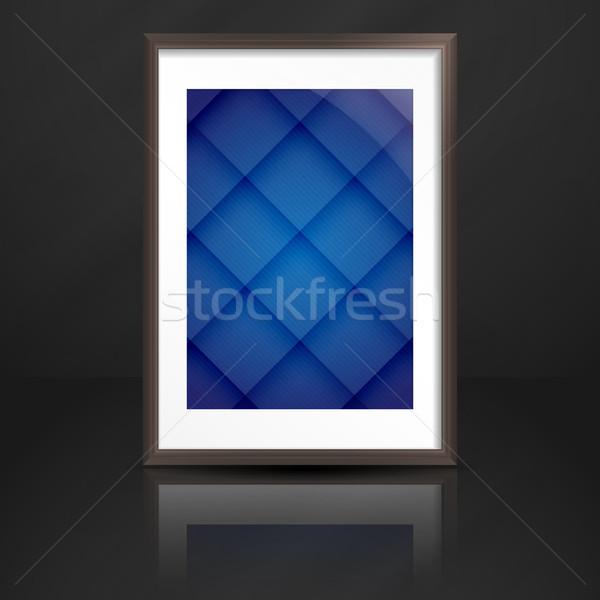 Mur eps 10 texture bois Photo stock © HelenStock