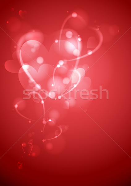 Saint valentin mariage eps 10 texture amour Photo stock © HelenStock