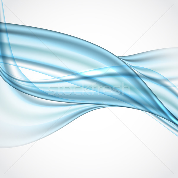 Abstract Blue Wavy Background Stock photo © HelenStock